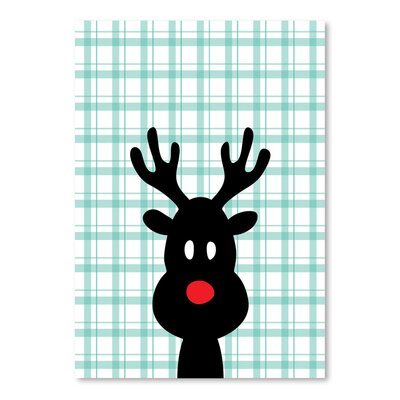 Americanflat 'Reindeer Christmas' by Ashlee Rae Graphic Art