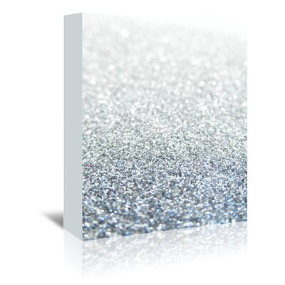 Americanflat Wonderful Dream Glitter Sparkly Style Graphic Art Wrapped on Canvas