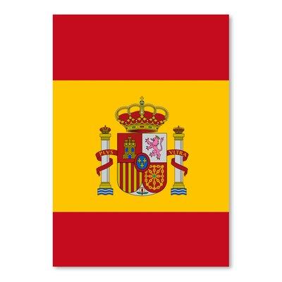 Americanflat Wonderful Dream Spain Flag Graphic Art