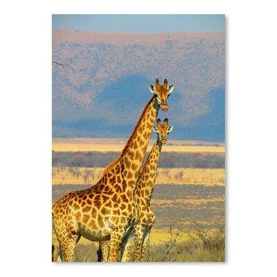 Americanflat Wonderful Dream Wildlife African Giraffe Photographic Print