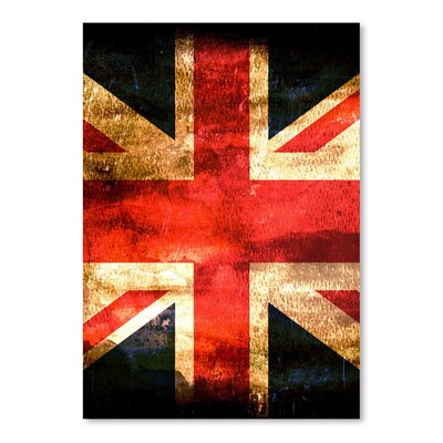 Americanflat Wonderful Dream United Kingdom England Flag Graphic Art