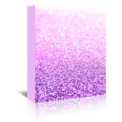 Americanflat Wonderful Dream Glitter Glamour Shiny Graphic Art Wrapped on Canvas