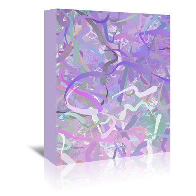 Americanflat Wonderful Dream Pastel Abstract Design Graphic Art Wrapped on Canvas
