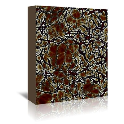 Americanflat Wonderful Dream Medical System Cell Nerve Graphic Art Wrapped on Canvas