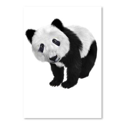 Americanflat Wonderful Dream Panda Bear Animal Graphic Art