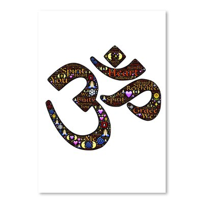 Americanflat Wonderful Dream Namaste Indian Greetings Graphic Art