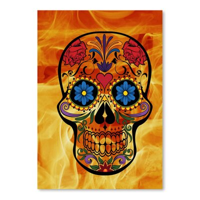 Americanflat Wonderful Dream Horror Skull Halloween Graphic Art