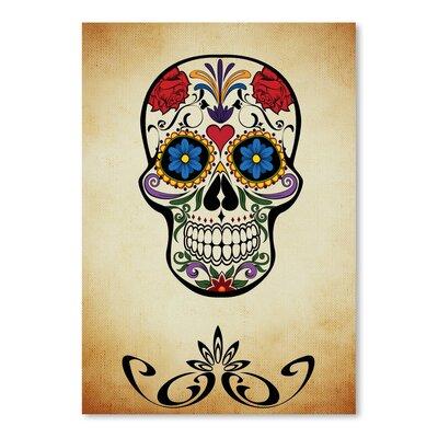 Americanflat Wonderful Dream Graphic Design of Horror Skull Graphic Art