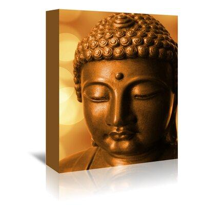 Americanflat Wonderful Dream Buddha Meditation Zen Photographic Print Wrapped on Canvas