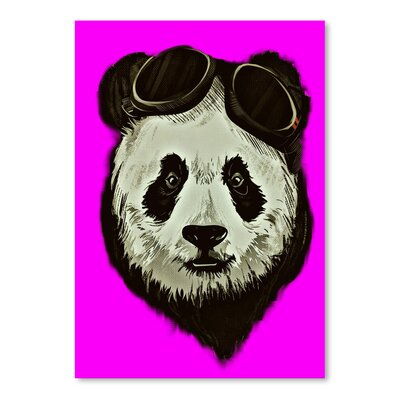 Americanflat Wonderful Dream Hipster Panda Bear Style Graphic Art