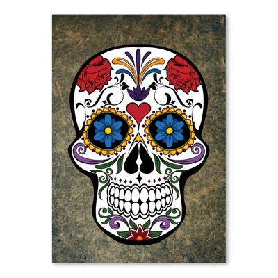 Americanflat Wonderful Dream Gothic Skull Horror Style Graphic Art