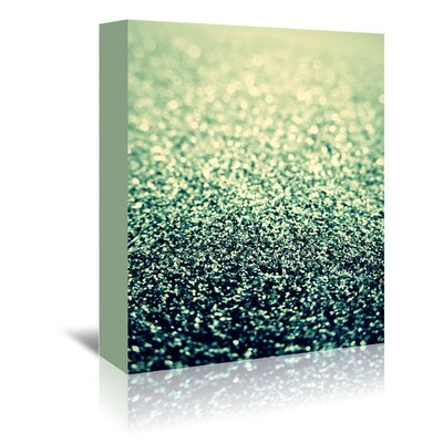 Americanflat Wonderful Dream Glitter Shiny Glamour Graphic Art Wrapped on Canvas