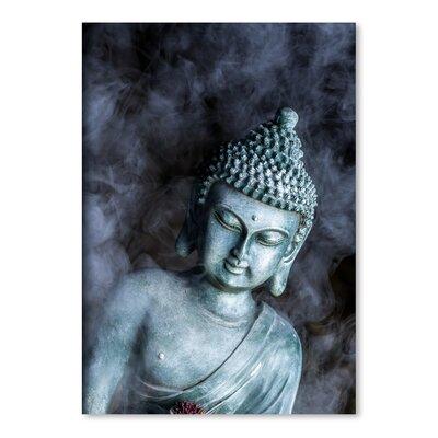 Americanflat Wonderful Dream Buddha with Smoke Symbol Photographic Print