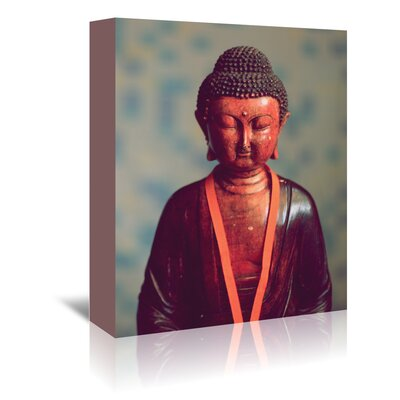 Americanflat Wonderful Dream Buddha Yoga Zen Religion Photographic Print Wrapped on Canvas