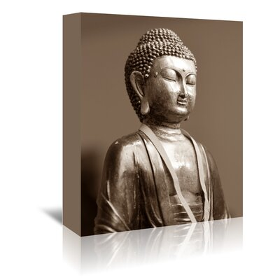 Americanflat Wonderful Dream Buddha Zen Yoga Meditation Photographic Print Wrapped on Canvas