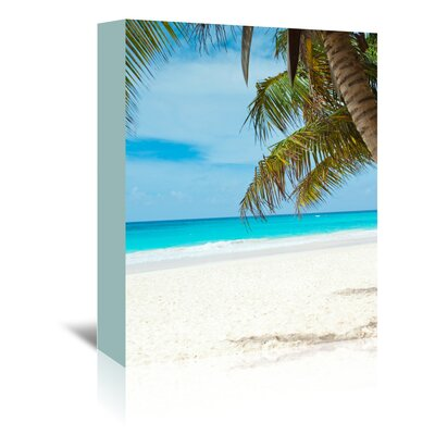 Americanflat Wonderful Dream Beach Holiday Travel Style Photographic Print Wrapped on Canvas