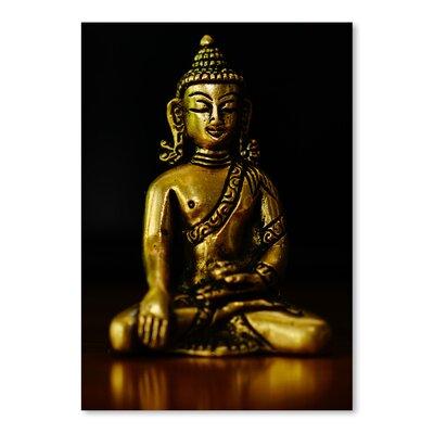 Americanflat Wonderful Dream Asia Buddha Yoga Symbol Photographic Print