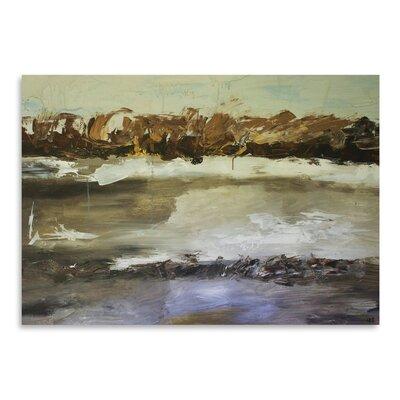 Americanflat 'Winter Landscape' by Laura D Zajac Art Print