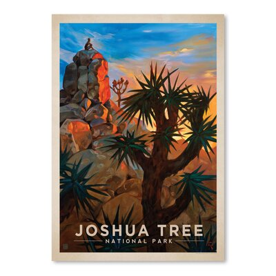 Americanflat 'Joshua Tree' by Anderson Design Group Vintage Advertisement