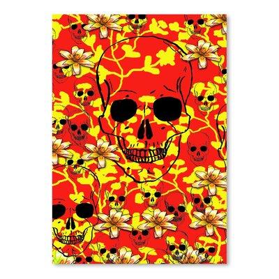 Americanflat Wonderful Dream Pattern Skull Design Graphic Art
