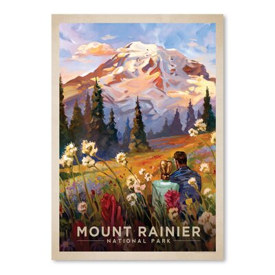 Americanflat 'Mount Rainier' by Anderson Design Group Vintage Advertisement