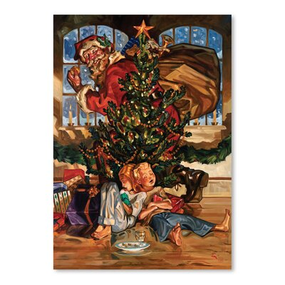 Americanflat 'Waiting for Santa' by Anderson Design Group Graphic Art