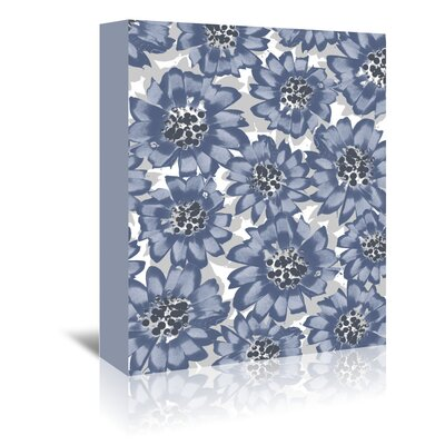 Americanflat 'Gazania Blue' by Chris Purcell Art Print Wrapped on Canvas