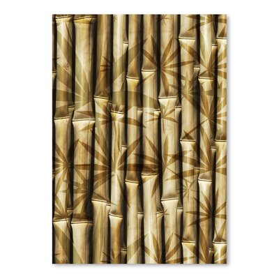 Americanflat Wonderful Dream Asia Bamboo Nature Graphic Art