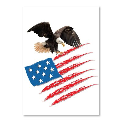 Americanflat Wonderful Dream United States America Flag Graphic Art