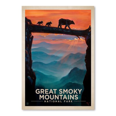 Americanflat 'Great Smoky Mountains 2' by Anderson Design Group Graphic Art