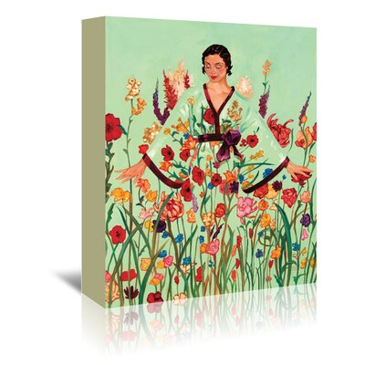 Americanflat 'May Flowers' by Anderson Design Group Art Print Wrapped on Canvas