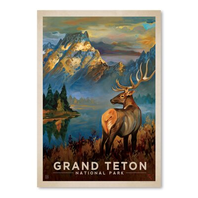 Americanflat 'Grand Teton' by Anderson Design Group Vintage Advertisement