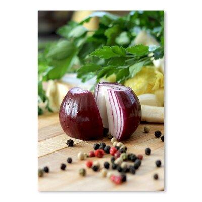Americanflat Wonderful Dream Kitchen Onion Food Style Photographic Print