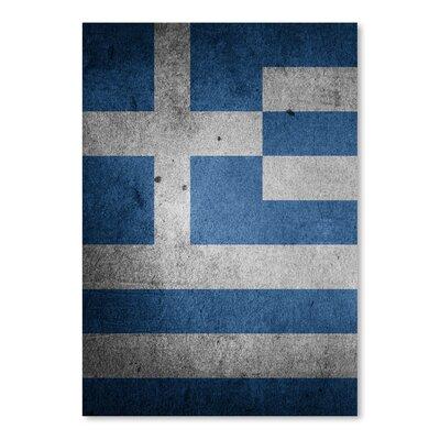 Americanflat Wonderful Dream Greece Flag Graphic Art
