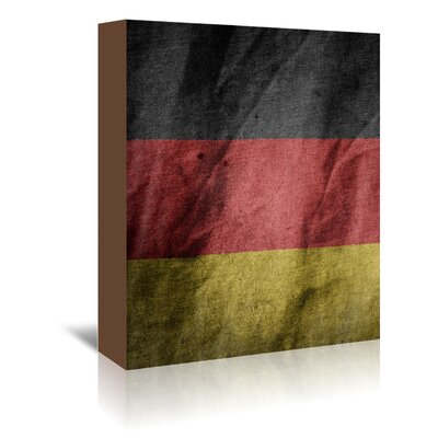 Americanflat Wonderful Dream Germany Flag Graphic Art Wrapped on Canvas