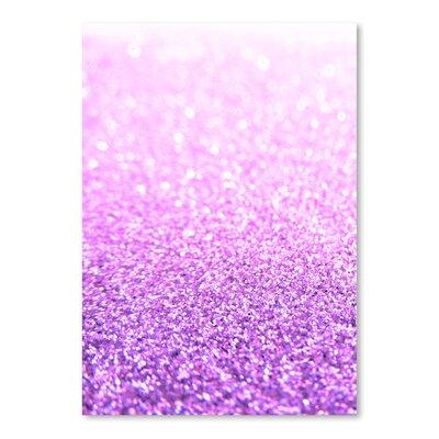 Americanflat Wonderful Dream Pink Glitter Glamour Shiny Graphic Art