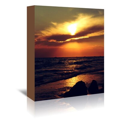 Americanflat Wonderful Dream Sunset from Turkey Side Photographic Print Wrapped on Canvas