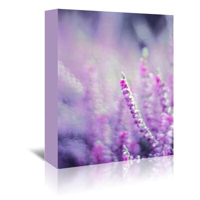 Americanflat Wonderful Dream Flower Bloom Nature Photographic Print Wrapped on Canvas