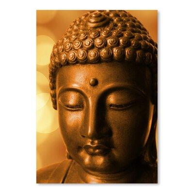 Americanflat Wonderful Dream Golden Buddha Meditation Zen Photographic Print