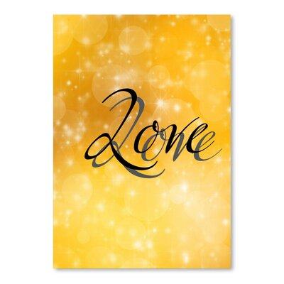 Americanflat Wonderful Dream Design of Love Valentine Typography