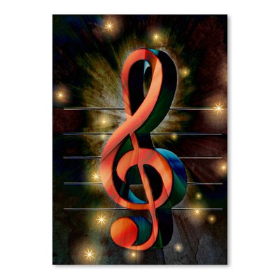 Americanflat Wonderful Dream Abstract Clef Music Musically Graphic Art