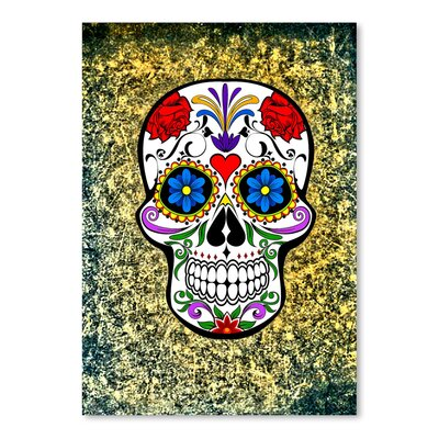 Americanflat Wonderful Dream Modern and Trendy Horror Skull Graphic Art