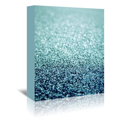 Americanflat Wonderful Dream Glitter Sparkly Luxury Graphic Art Wrapped on Canvas