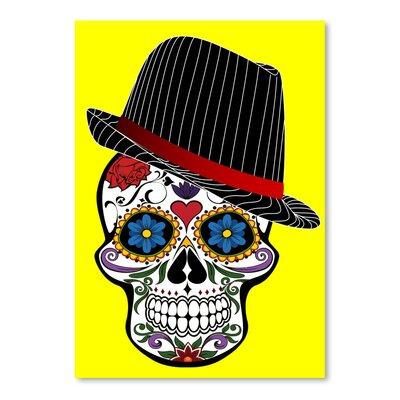 Americanflat Wonderful Dream Hipster Skull Horror Graphic Art