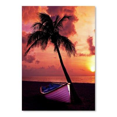Americanflat Wonderful Dream Holiday Travel Beach Nature Photographic Print