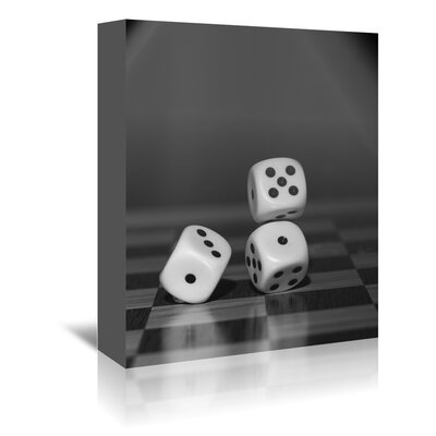 Americanflat Wonderful Dream Cube Dice Hobby Game Photographic Print Wrapped on Canvas