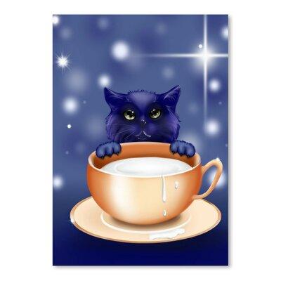 Americanflat Wonderful Dream Fantasy Kitten Cat Graphic Art