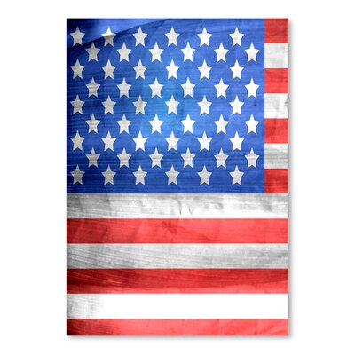 Americanflat Wonderful Dream American US Flag Graphic Art