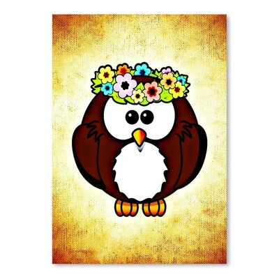 Americanflat Wonderful Dream Cool and Funny Owl Bird Graphic Art