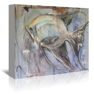 Americanflat 'Angel' by Laura D Zajac Graphic Art Wrapped on Canvas